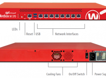 Watchguard Firewalls Firebox M370 with 3-Year Total Security Suite